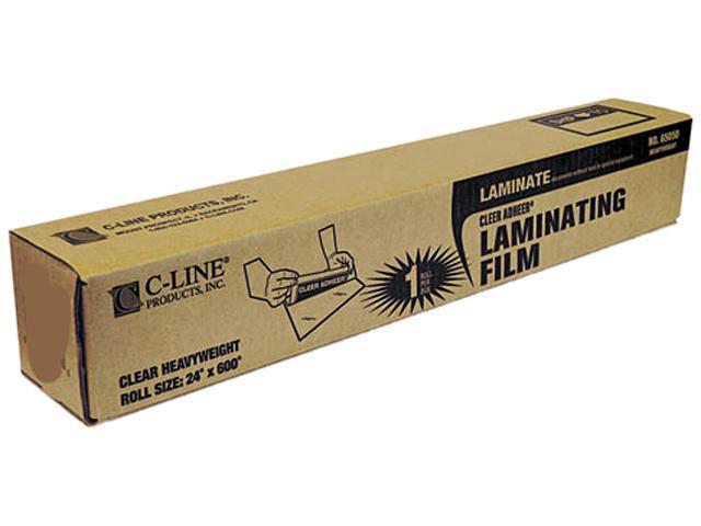 65050 C-Line Cleer Adheer Laminating Film, 2 mil, 24