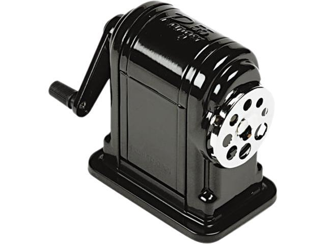 X-ACTO 1001 Boston Ranger 55 Table-Mount/Wall-Mount Manual Pencil Sharpener, Black