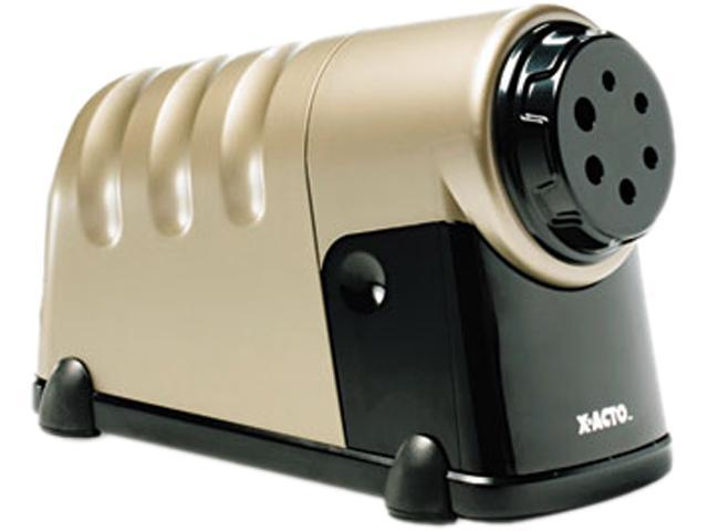 X-ACTO 1606 High-Volume Commercial Desktop Electric Pencil Sharpener, Beige