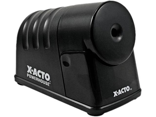 X-ACTO 1799 PowerHouse Desktop Electric Pencil Sharpener, Black