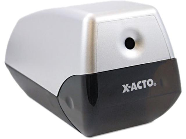 X-ACTO 1900 Model 1900 Desktop Electric Pencil Sharpener, Two-Tone Gray