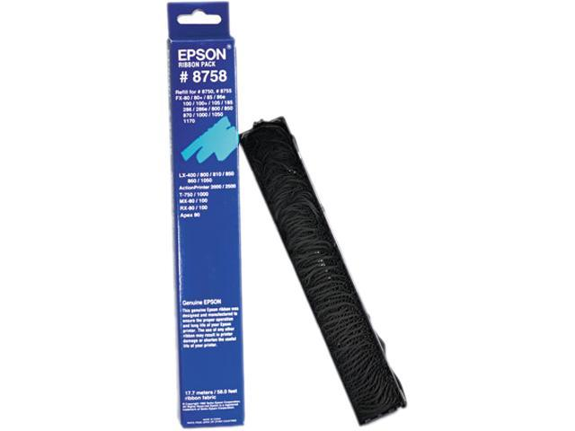 Epson America 8758 8758 Ribbon, Black