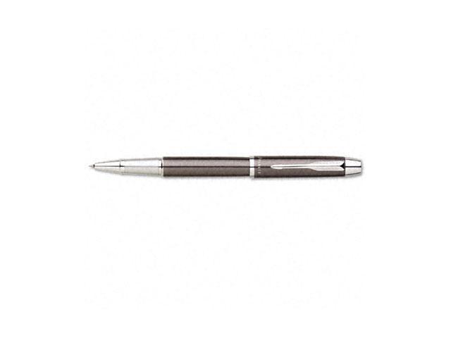 Parker 1750422 IM Roller Ball Stick Pen, Black Ink, Medium