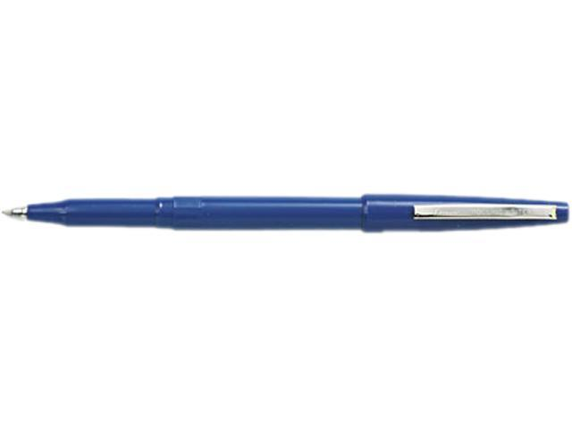 Pentel Rolling Writer Roller Ball Pen, Blue Ink, Medium, 0.40 mm (Dozen)