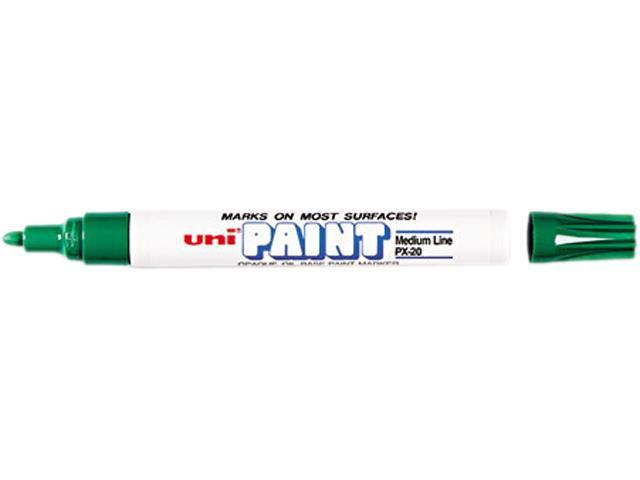 Sanford 63604 uni-Paint Marker, Medium Point, Green