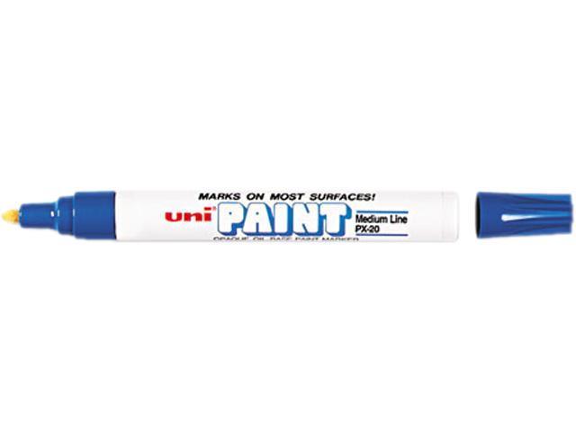 Sanford 63603 uni-Paint Marker, Medium Point, Blue
