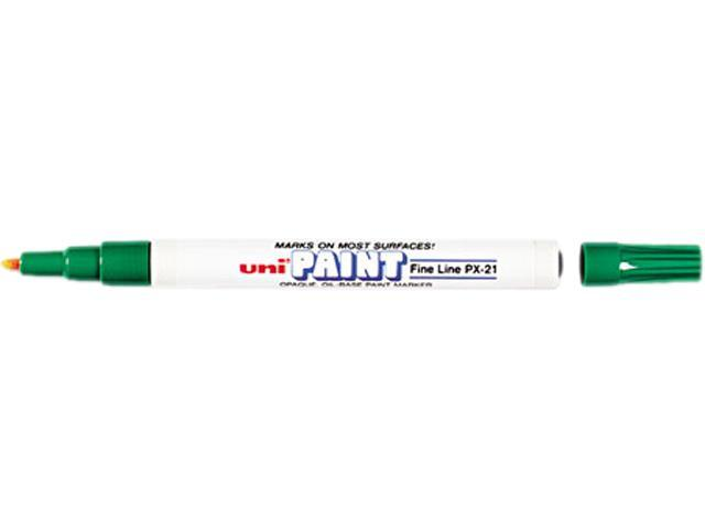 Sanford 63704 uni-Paint Marker, Fine Point, Green