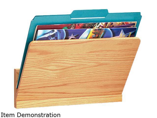 Carver 09691 Wood Wall File Pocket, Legal/Letter, Oak