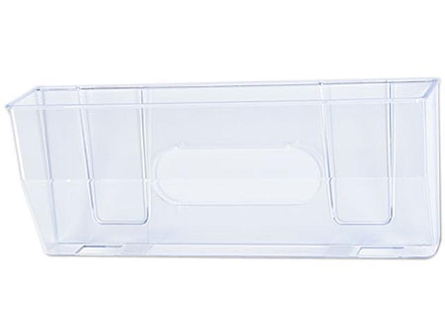 Deflect-o 50101 Oversized Magnetic Wall File Pocket, Legal/Letter, Clear