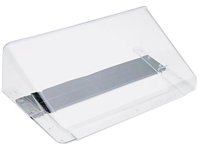Deflect-o 73101 Letter Size Magnetic Wall File Pocket, Letter, Clear