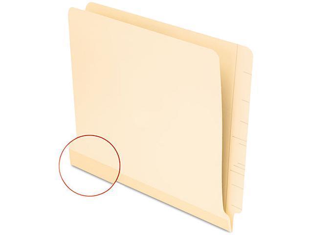 Pendaflex 11035 Laminate Shelf File Folder, Straight Tab, 11 Point Manila, Letter, 100/Box