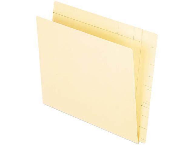 Pendaflex 16640 Conversion Folders, Straight Cut, Top Tab, Letter, Manila, 100/Box
