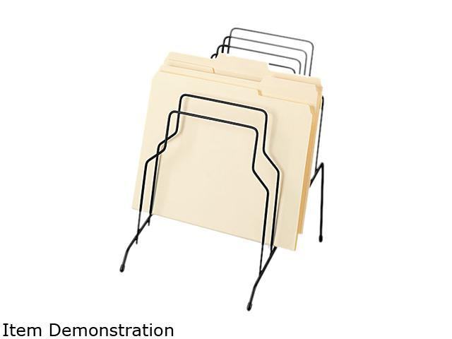 Fellowes 72614 Step File, Eight Sections, Wire, 10 1/8 x 12 1/8 x 11 7/8, Black