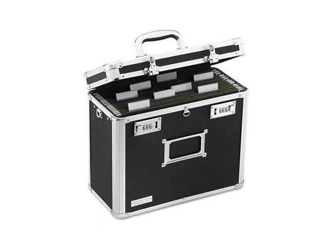 IdeaStream™                              Locking File Tote Storage Box, Letter, 13-3/4 x 7-1/4 x 12-1/4, Black