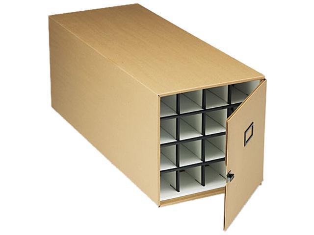 Safco 3051TS Stackable Roll File Storage Box, 16-3/4 x 38-3/4 x 16-3/4, Tropic Sand