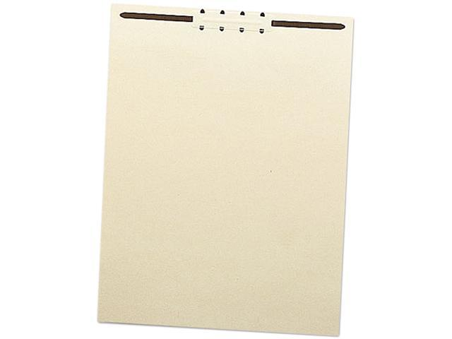 "Smead 35511 Recycled Letter Size Manila File Backs w/Prong Fasteners, 2"" Capacity, 100/Box"