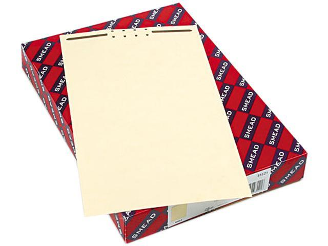 Smead 35521 Recycled Legal Size File Backs with Prong Fasteners, 2