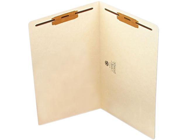 Smead 37115 Heavyweight Folders, Two Fasteners, End Tab, Legal, 11 Point Manila, 50/Box
