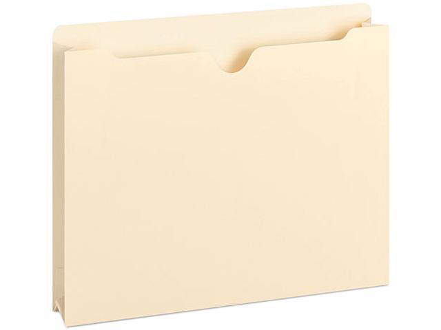 Smead 75560 Double-Ply Top File Jackets, Two Inch Expansion, Letter, 11 Point Manila, 50/Box