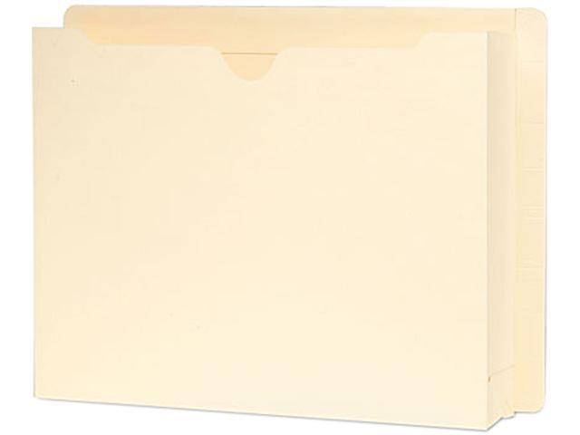 Smead 76910 End Tab File Jacket, Two Inch Expansion, 12 3/8 x 9 1/2, 14 Point Manila, 25/Box