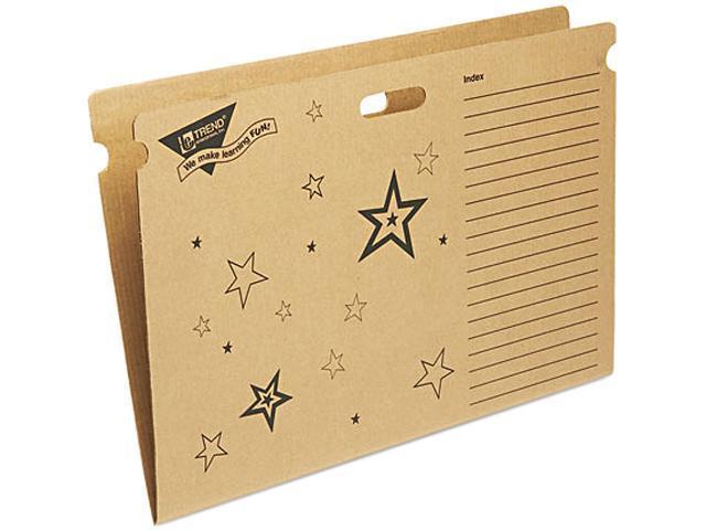 TREND T1021 File 'n Save System Bulletin Board Storage Box, 27-1/4 x 18-1/2 x 1/2, Stars