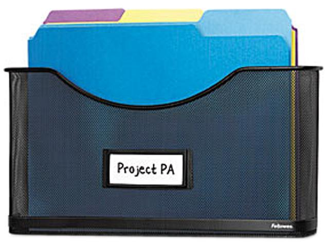 Fellowes Partition Additions File Pocket, Mesh, 1 1/2
