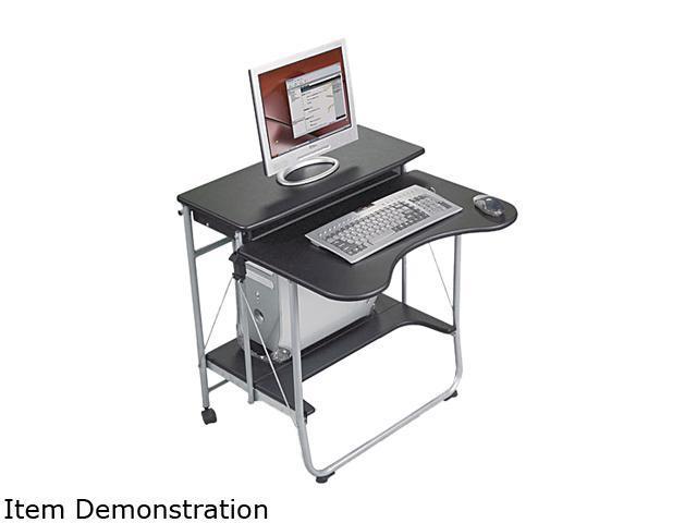 BALT 89811 Fold-N-Go Workstation, 27-1/2w x 29-1/2d x 29-1/2h, Black/Silver