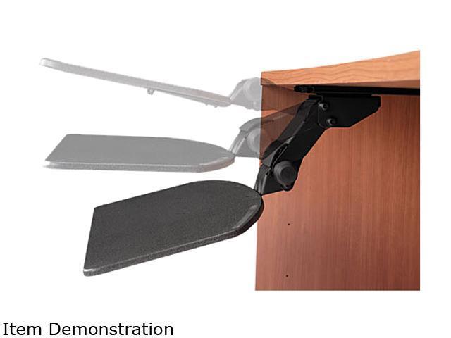 Bush Furniture Articulating Keyboard Shelf, 27-13/4 x 15-1/4, Black