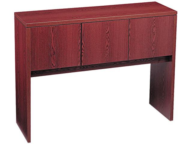 10500 Stack-On Storage For Return, 48w x 14-5/8d x 37-1/8h, Mahogany