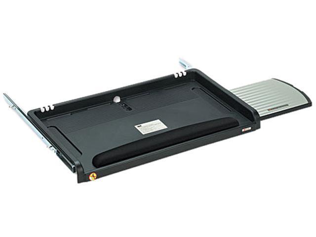 3M KD45 Underdesk Keyboard Drawer, 23 x 14, Black