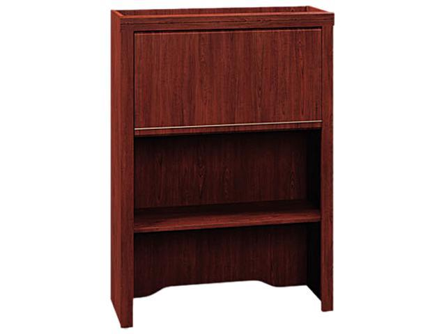 Bush Enterprise Collection Lateral File Hutch, 30w x 12d x 42h, Harvest Cherry