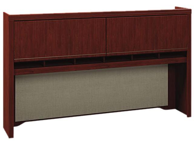 Bush Enterprise 2973CSA2-03 Tall Hutch Box 2 of 2, 72'' Width x 12'' Depth x 42'' Height - Harvest Cherry (must order item# 48-007-605 together )