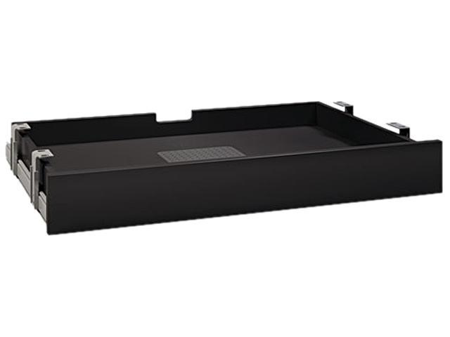 Bush Enterprise Collection Multipurpose Drawer, 26w x 15d x 3h, Black