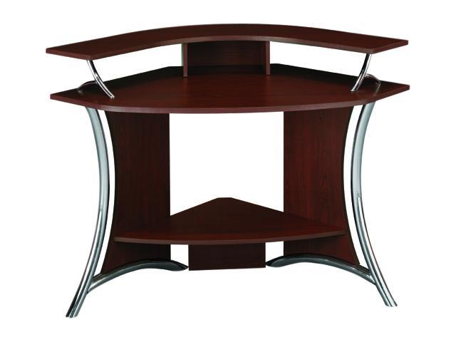 Bush Furniture Signature HM98600 03 Tacoma Collection Corner Computer Desk    Harvest Cherry