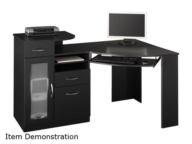 Bush Furniture Signature HM66915-03 Vantage Collection Corner Desk - Black