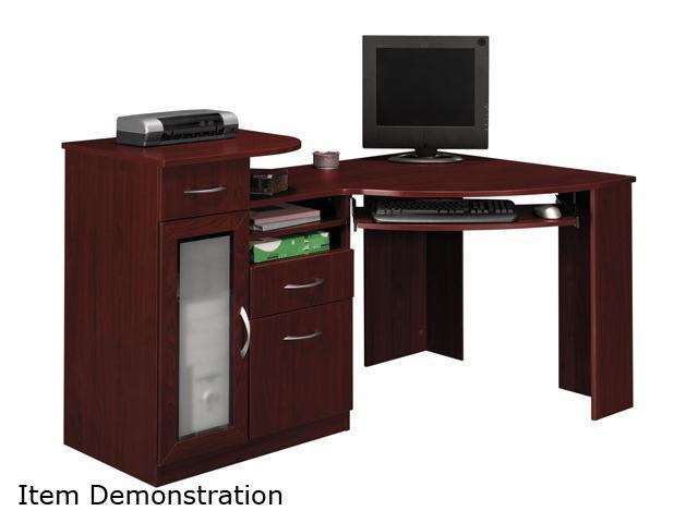 Bush Furniture Signature HM66615-03 Vantage Collection Corner Desk - Harvest Cherry
