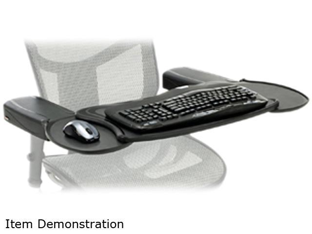mobo mecs blk 001 chair mount ergo keyboard and mouse tray system. Black Bedroom Furniture Sets. Home Design Ideas