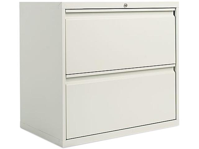 Alera LA52-3029LG (ALELF3029LG) Two-Drawer Lateral File Cabinet, 30w x 19-1/4d x 29h, Light Gray