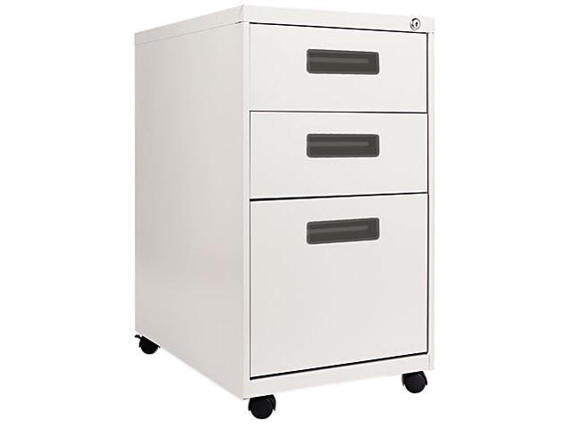 Alera PA53-2823LG Three-Drawer Mobile Pedestal File, 15-7/8w x 23-1/4d x 28-1/4h, Light Gray