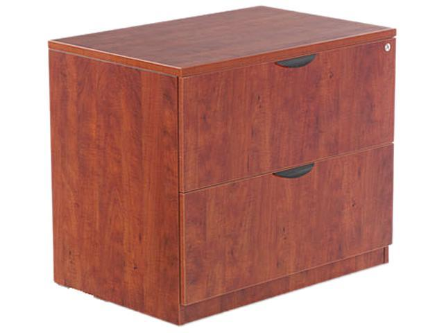 Alera VA51-3622MC Valencia Series Two-Drawer Lateral File, 34w x 22 3/4d x 29 1/2h, Medium Cherry