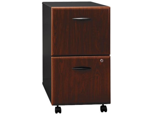 BUSH FURNITURE WC94452SU 2-Drawer Mobile Vertical File, 28-1/4