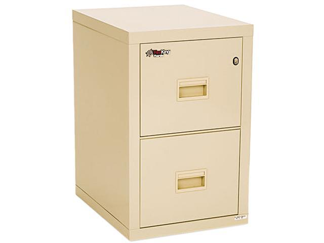 FireKing 2R1822CPA Turtle 2-Drawer File, 17-3/4w x 22-1/8d, UL Listed 350 degree for Fire, Parchment