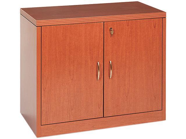 HON 115291ABHH 11500 Series Valido Storage Cabinet w/Doors, 36w x 20d x 29-1/2h, Bourbon Cherry