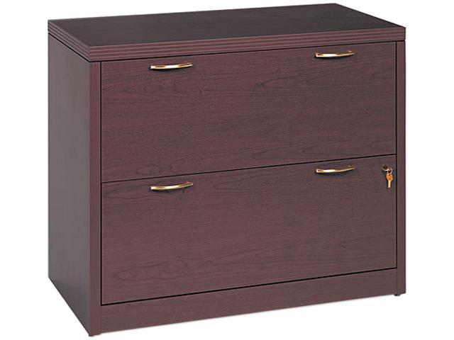 HON 11563AFNN Valido 11500 Series 2-Drawer Lateral File, 36w x 20d x 29-1/2h, Mahogany