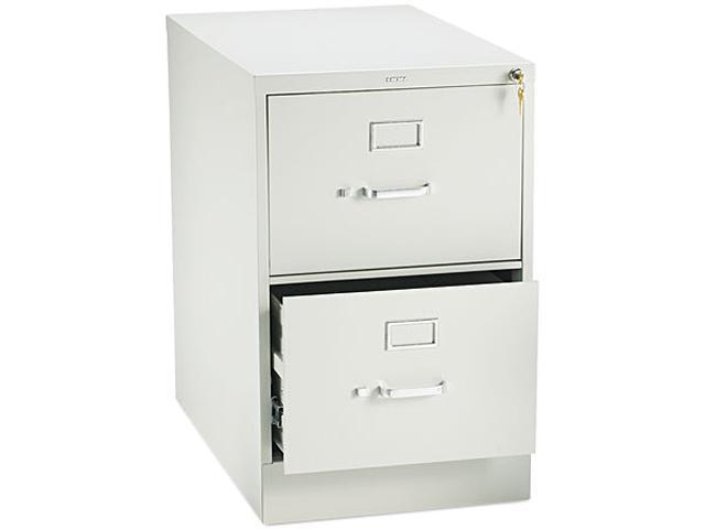 HON 212CPQ 210 Series Two-Drawer, Full-Suspension File, Legal, 28-1/2d, Light Gray