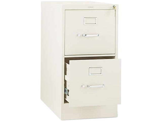 HON 312PL 310 Series Two-Drawer, Full-Suspension File, Letter, 26-1/2d, Putty