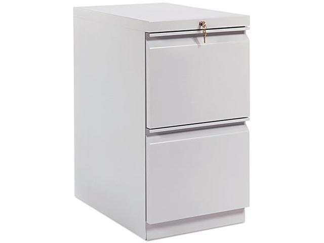 HON 33823RS Efficiencies Mobile Pedestal File w/Two File Drawers, 22-7/8d, Charcoal