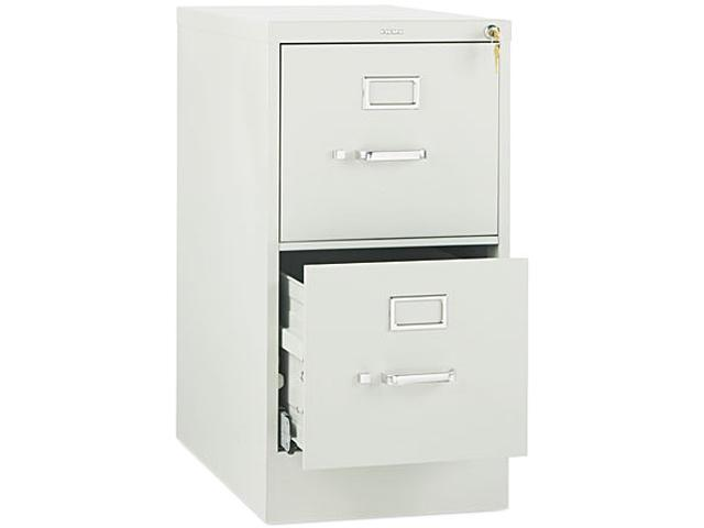 HON 512PQ 510 Series Two-Drawer Full-Suspension File, Letter, 29h x25d, Light Gray