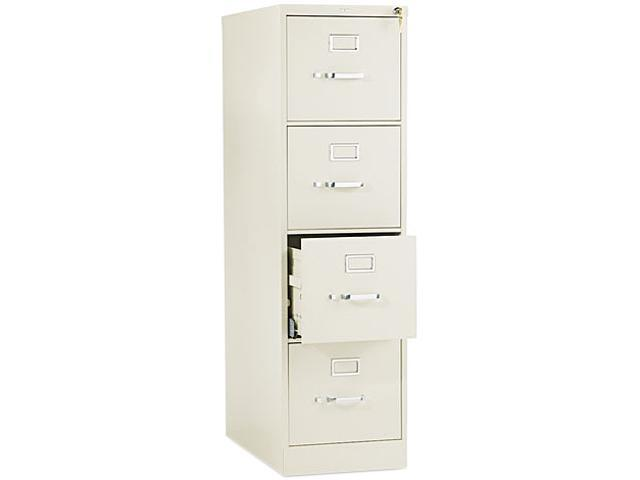 HON 514PL 510 Series Four-Drawer, Full-Suspension File, Letter, 52h x25d, Putty