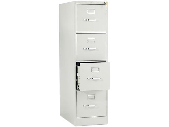 HON 514PQ 510 Series Four-Drawer, Full-Suspension File, Letter, 52h x25d, Light Gray